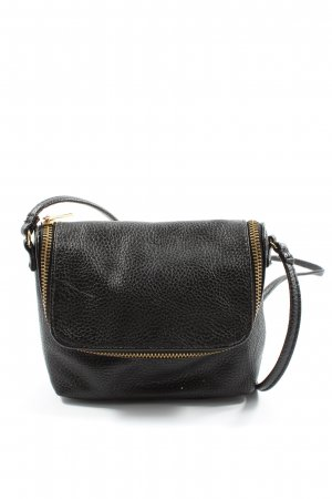 H&M Minibolso negro look casual
