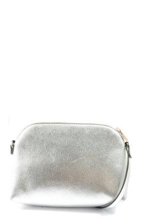 H&M Minitasche silberfarben Casual-Look