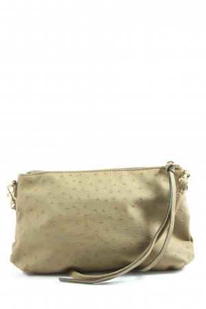 H&M Minitasche khaki Punktemuster Casual-Look