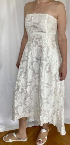 H&M Suknia ślubna biały Bawełna