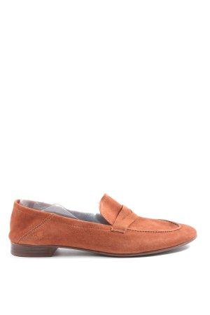H&M Mocassins orange clair style décontracté
