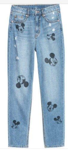 H&M Pantalón boyfriend azul