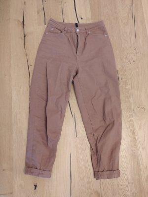 H&M Boyfriend Jeans light brown