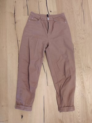 H&M Boyfriend jeans lichtbruin