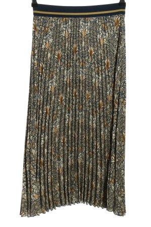 H&M Morris & Co Jupe plissée imprimé allover style décontracté