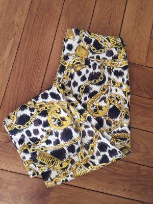 Moschino Pantalone cinque tasche multicolore