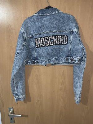 h&m moschino Spijkerjack lichtblauw