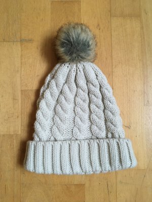 H&M Knitted Hat multicolored cotton