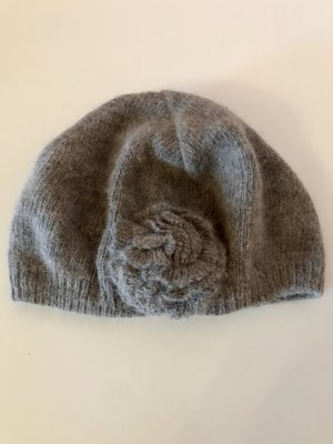 H&M Cappello all'uncinetto marrone-grigio