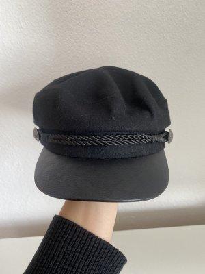 H&M Gorro plano negro
