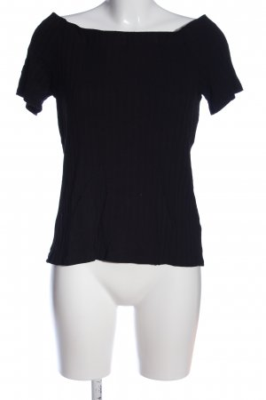 H&M Muskelshirt schwarz Casual-Look