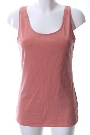H&M Camisa de tirantes para hombres rosa look casual