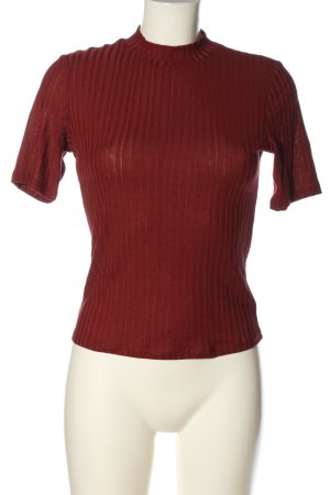 H&M Muskelshirt rot Streifenmuster Casual-Look
