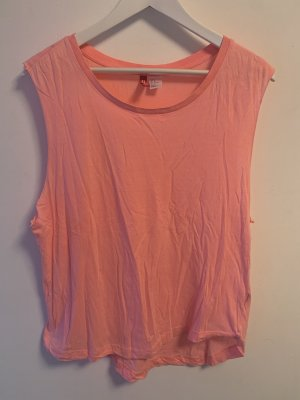 H&M Muskelshirt neon pink
