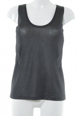 H&M Camisa de tirantes para hombres negro estilo deportivo