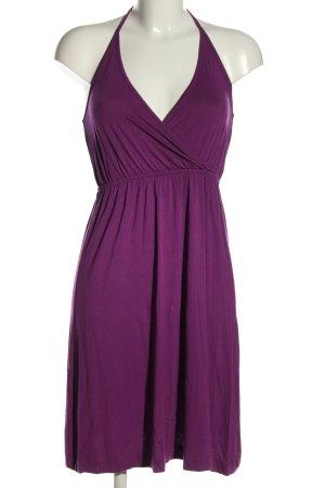 H&M Robe dos-nu violet élégant