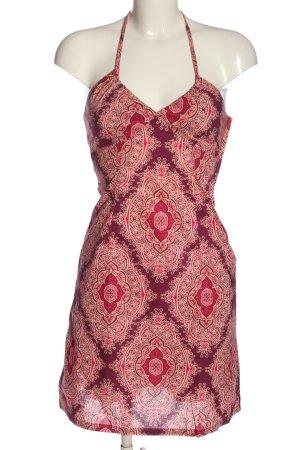 H&M Halter Dress allover print casual look