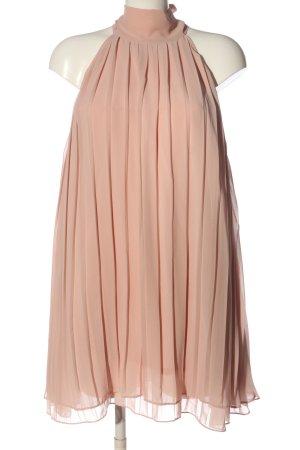 H&M Halter Dress nude casual look