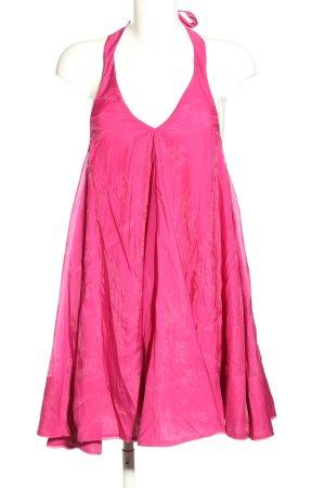 H&M Robe dos-nu rose style décontracté