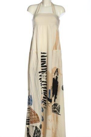 H&M Neckholderkleid abstraktes Muster Casual-Look