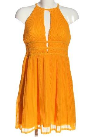 H&M Halter Dress light orange casual look