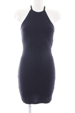 H&M Robe dos-nu bleu style festif