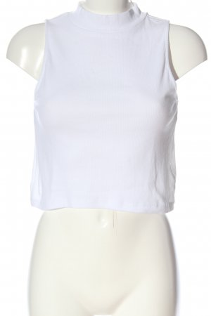 H&M Haltertop wit casual uitstraling