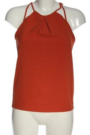 H&M Haltertop licht Oranje casual uitstraling