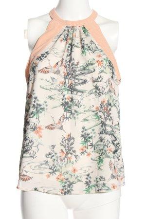 H&M Top senza maniche Stampa a tema stile professionale