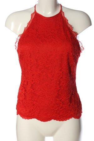 H&M Haltertop rood elegant