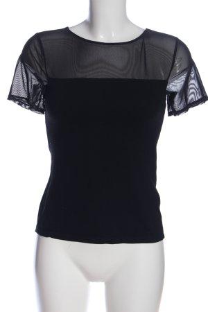 H&M Netshirt zwart casual uitstraling