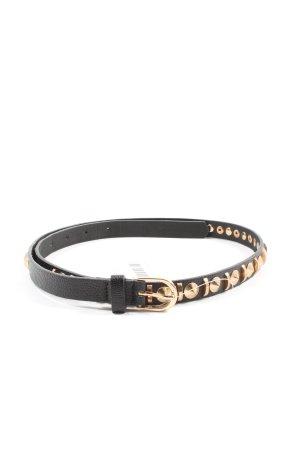 H&M Cintura borchiata nero stile casual