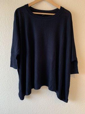 H&M Oversized Shirt dark blue