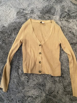 H&M Divided Cropped Top beige