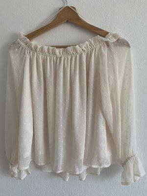 H&M Off-Shoulder Bluse