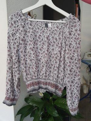 H&M Divided Carmen blouse veelkleurig