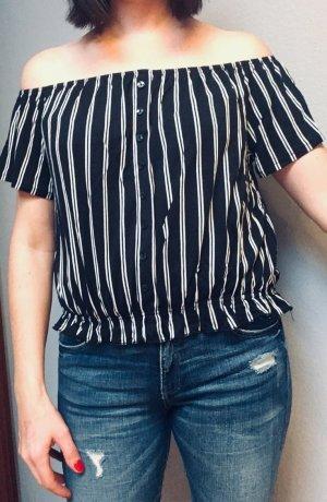 H&M off shoulder Shirt M