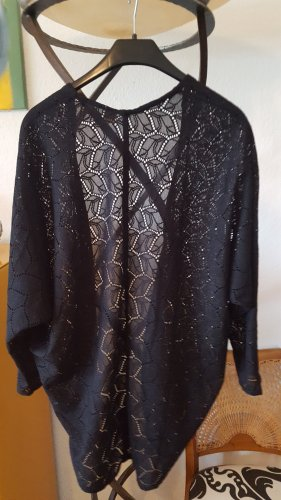H&M offene Strickjacke schwarz Gr.36 (S)