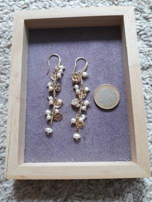 H&M Ohrhänger gold&Perle