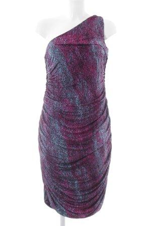 H&M One-Shoulder-Kleid Farbverlauf Elegant