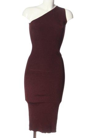 H&M One-Shoulder-Kleid rot Casual-Look