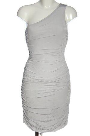 H&M Eénschouderjurk lichtgrijs elegant