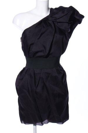 Lanvin for H&M Abito monospalla viola scuro elegante