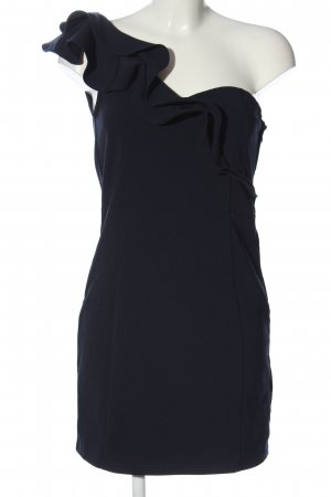 H&M One Shoulder Dress blue elegant