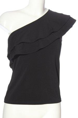 H&M Top monospalla nero stile casual