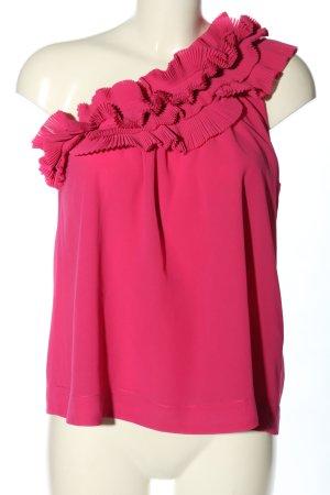 H&M Top monospalla rosa elegante