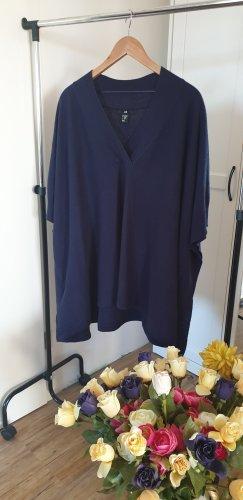 H&M one size Poncho Blau