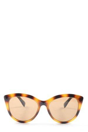 H&M Oval Sunglasses light orange-brown casual look