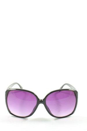H&M Gafas de sol ovaladas negro look casual