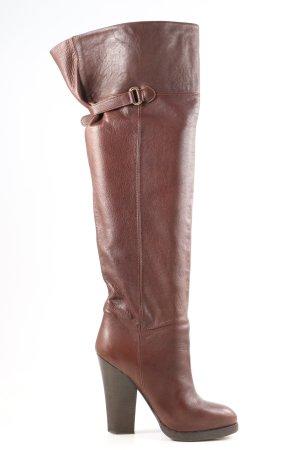 H&M Overknees braun Casual-Look